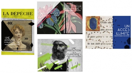 Voir : Une collection de 4 cartes postales